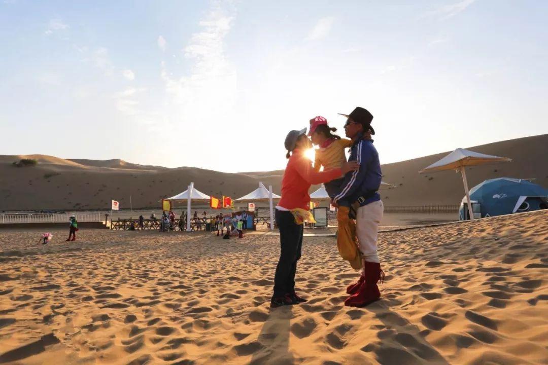 宁夏沙漠拓展亲子沙漠旅行