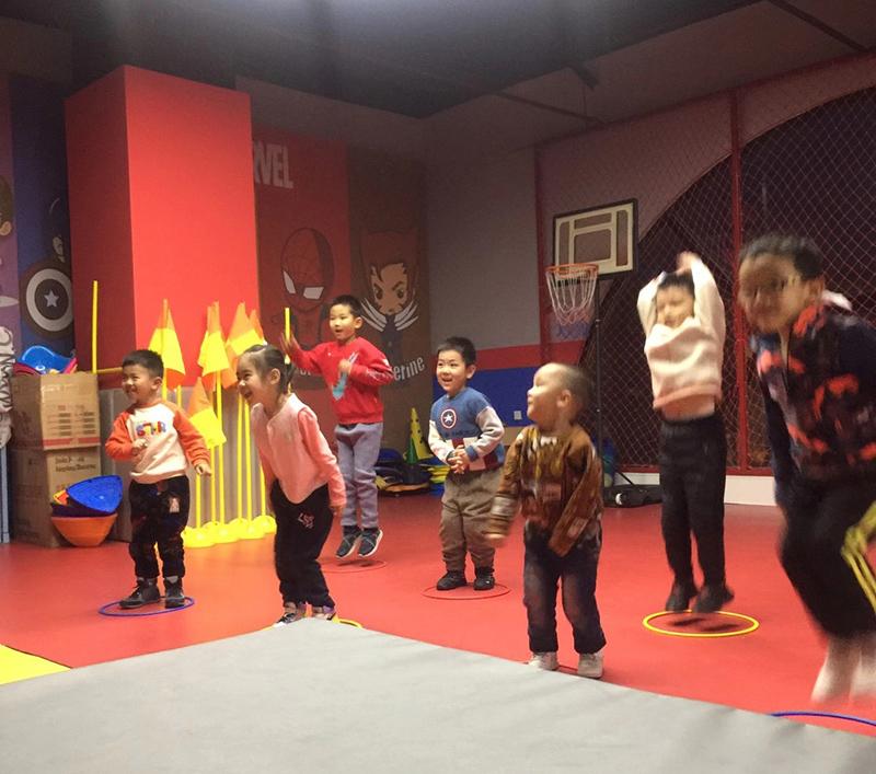 【儿童体适能】儿童篮球训练