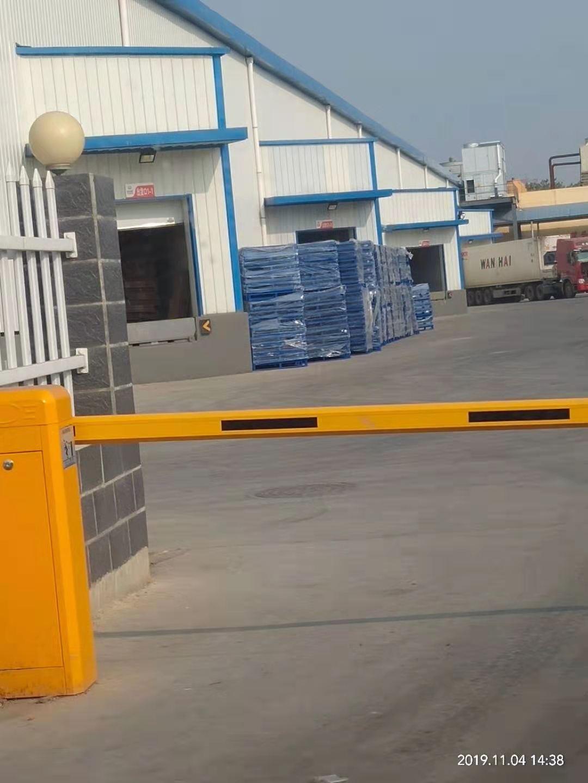 新峰塑业厂区一角