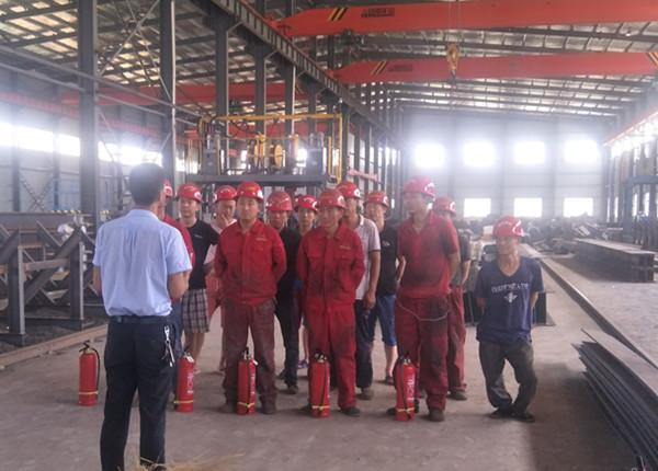 钢结构加工团队