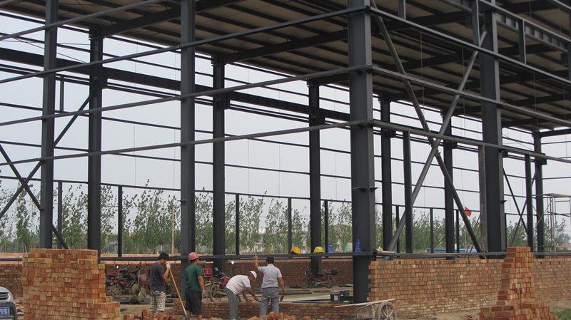你了解网架加工的涂料喷涂技术吗?西安钢结构工程厂来分享
