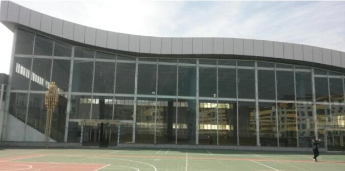 黄龙体育场钢结构工程