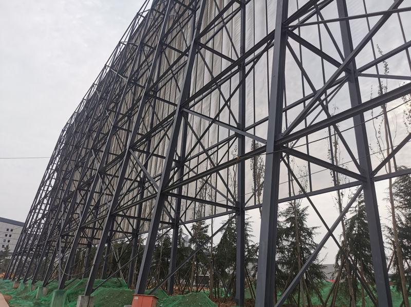 陕西长宁生态体育比赛基地挡弹墙工程
