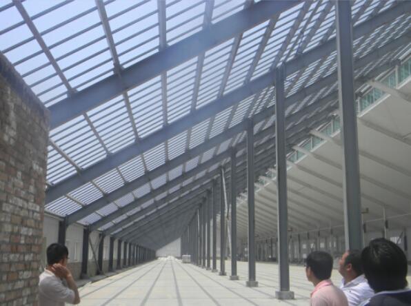 陕西大荔能源公司钢结构工程
