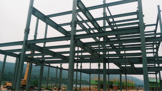 陕西白鹿汀州钢结构工程