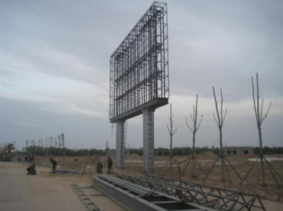 陕西户外广告牌钢结构工程