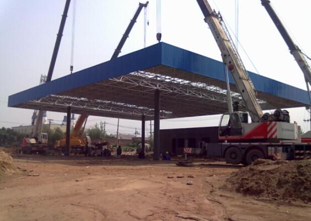 加油站钢结构工程