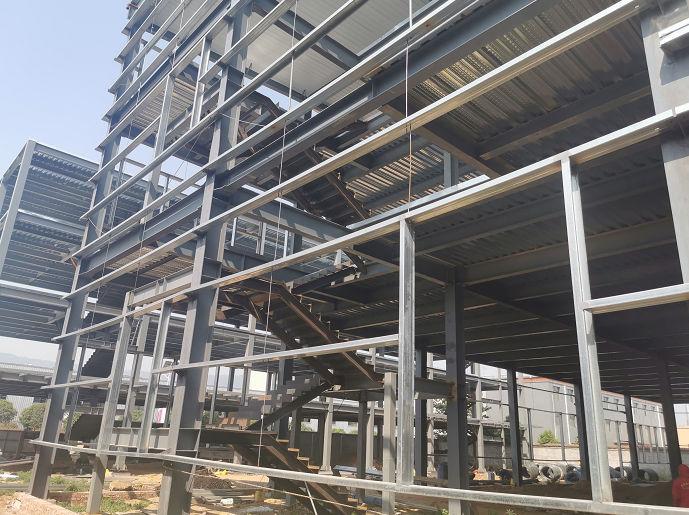 陕西上元商贸有限公司钢结构工程