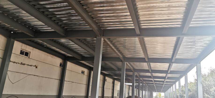 西安钢结构厂房设计