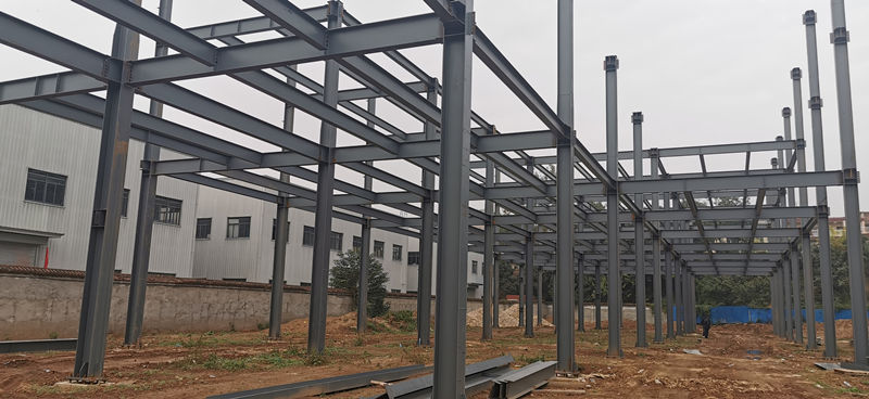 西北家具工业园上元商贸钢结构厂房工程