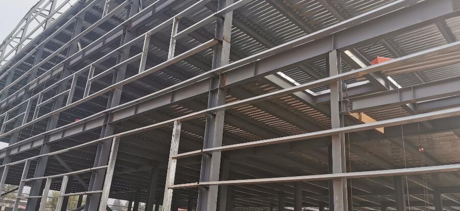 陕西万源科技钢结构厂房工程