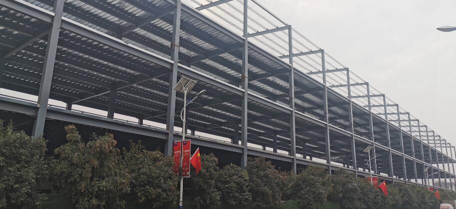 西安钢结构厂房施工