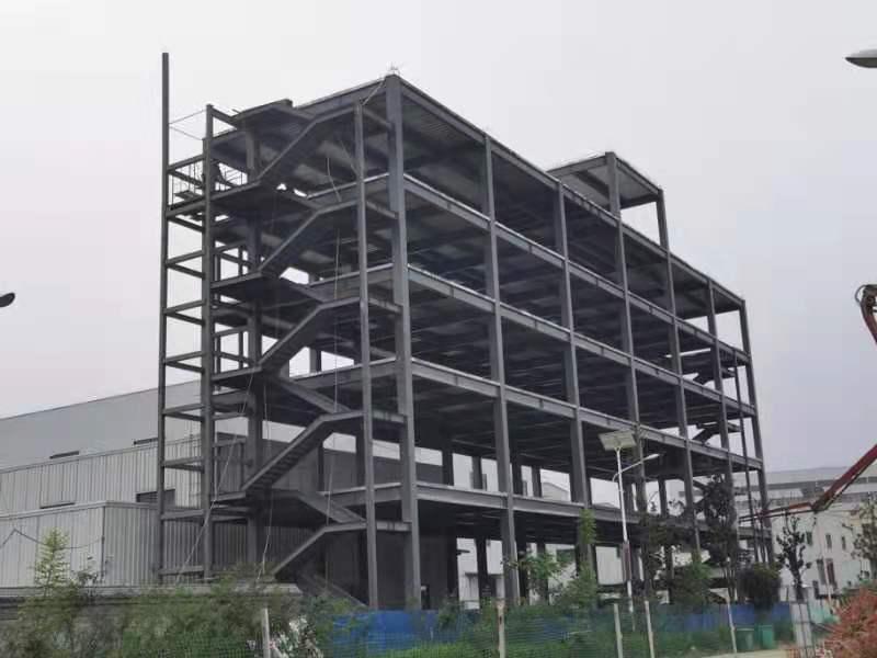 陕西广通铁路机车配件有限公司施工案例