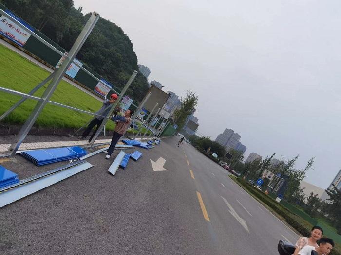 中交集团自贡305线道路改造项目