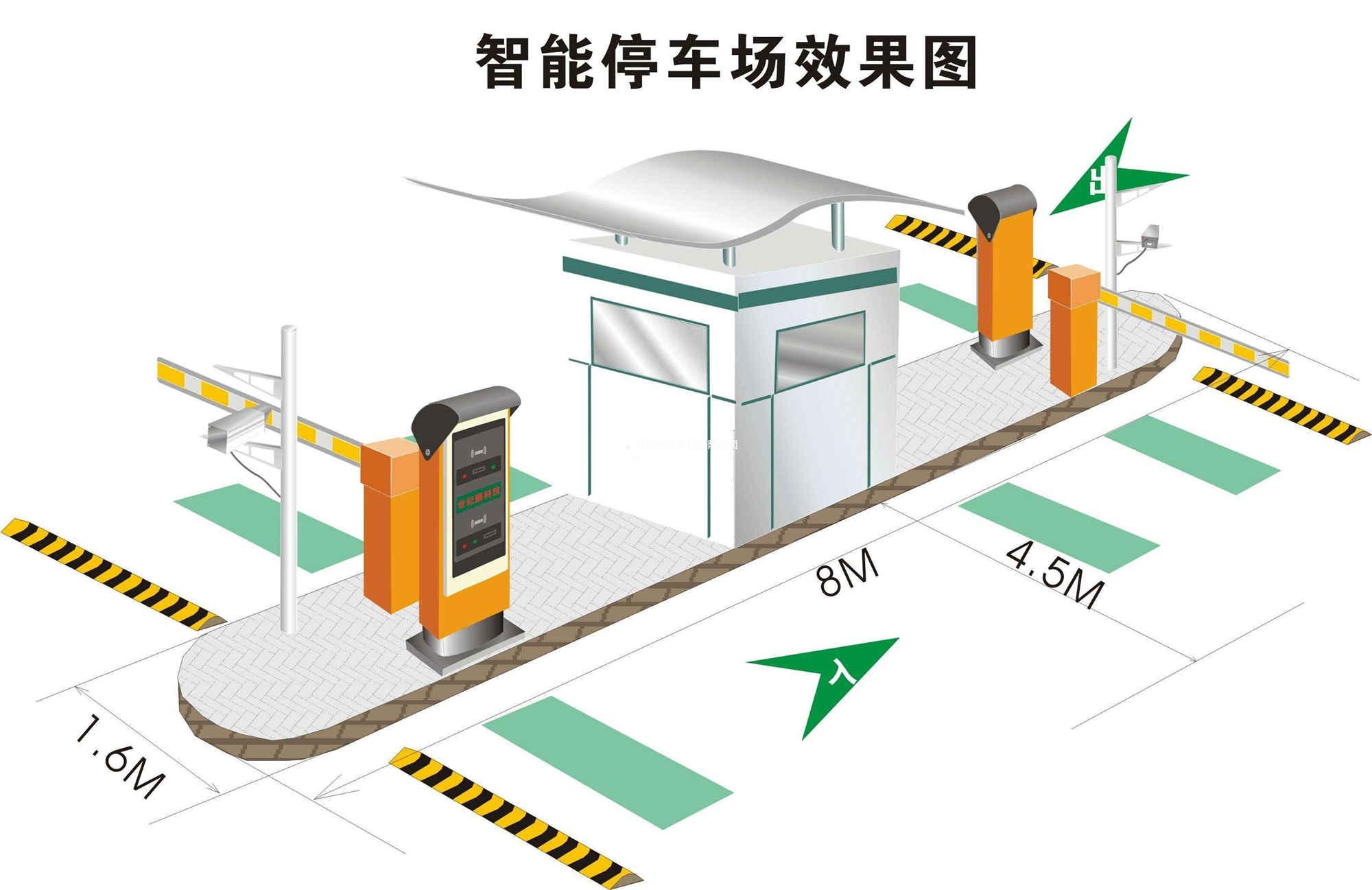 成都智能停车场系统道闸系统常见的问题处理方法