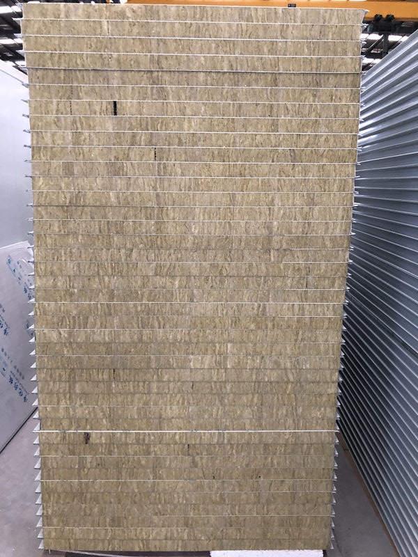 岩棉彩钢净化板