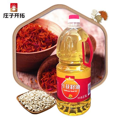 2.5L红花籽油塑料桶单桶