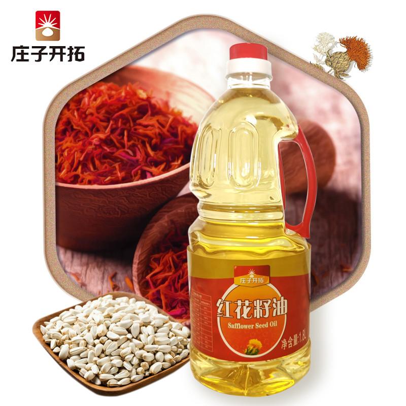 1.8L红花籽油塑料桶单桶