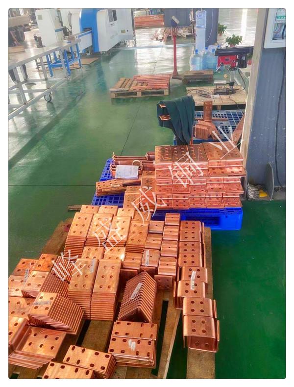 某电气集团单位,长期合作机加工铜排、铝排