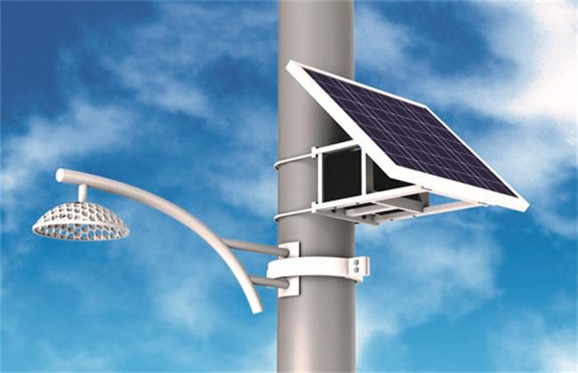 太阳能路灯的原理及结构组成