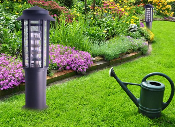 草坪灯安装