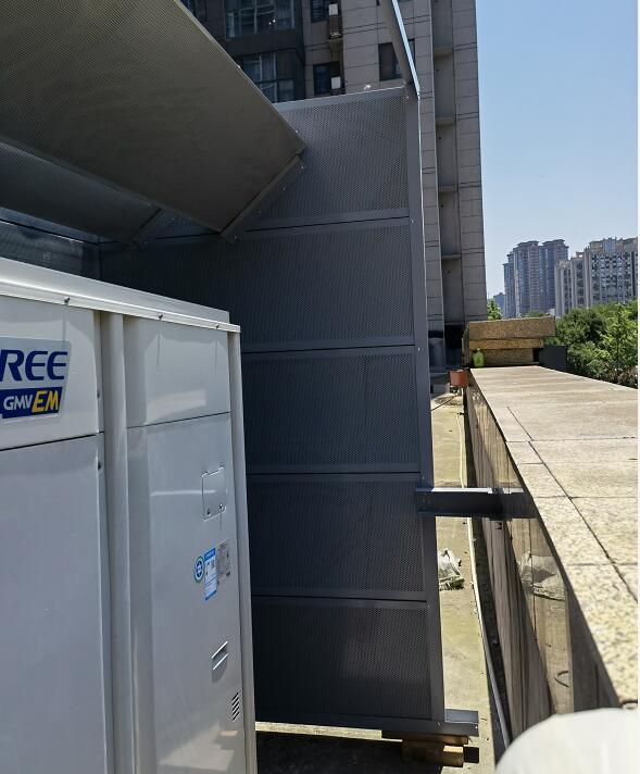国家电网营业厅空调隔音屏障