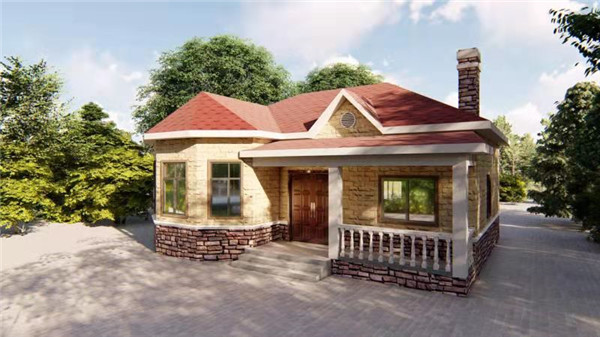 陕西轻钢别墅设计