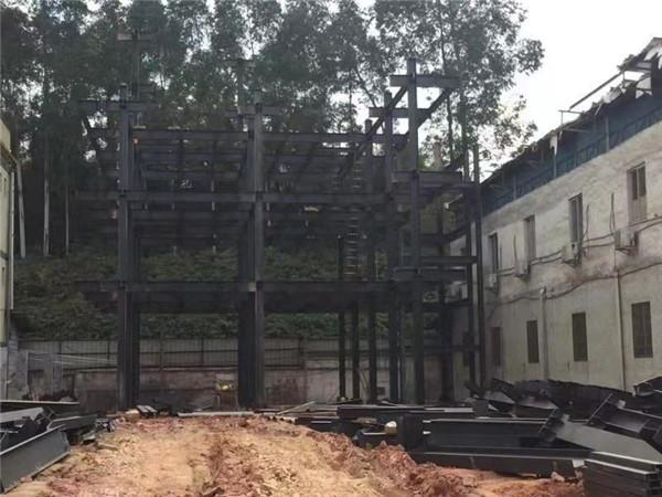 陕西钢结构厂房建造