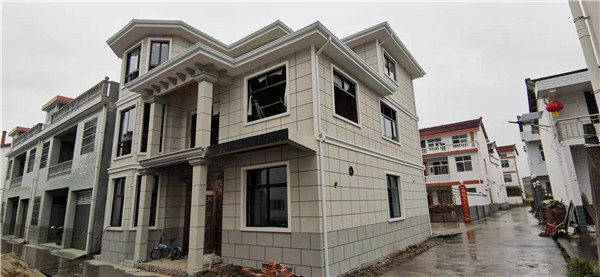 轻钢别墅建造案例