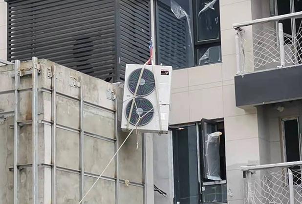 成都高空空調外機吊裝