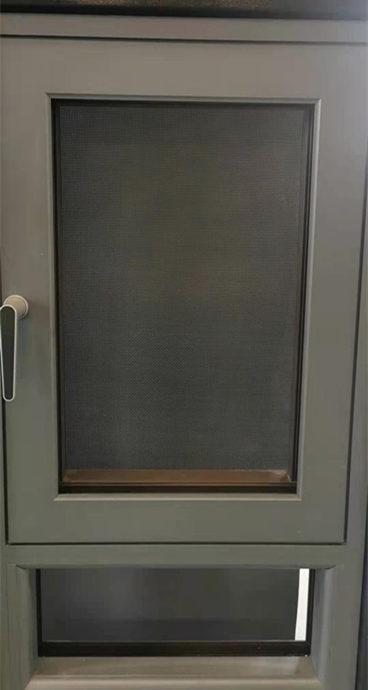 铝合金纱窗生产
