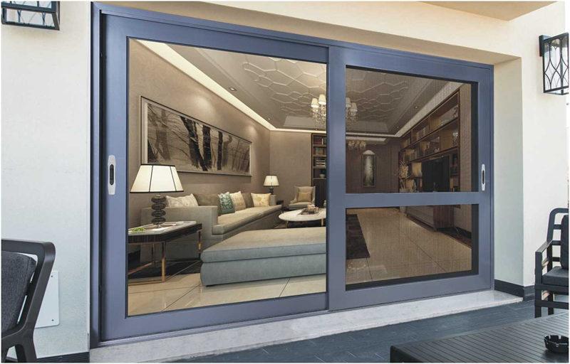 陕西铝合金门窗安装案例