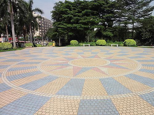 为什么成都广场地砖如此漂亮美观?