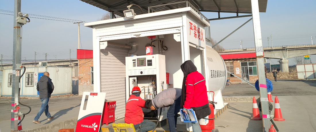【山西某运输车队】撬装式加油站工程