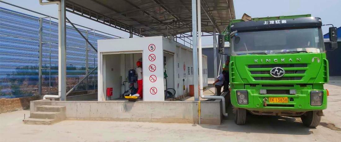 【太原某运输车队】撬装式加油站工程