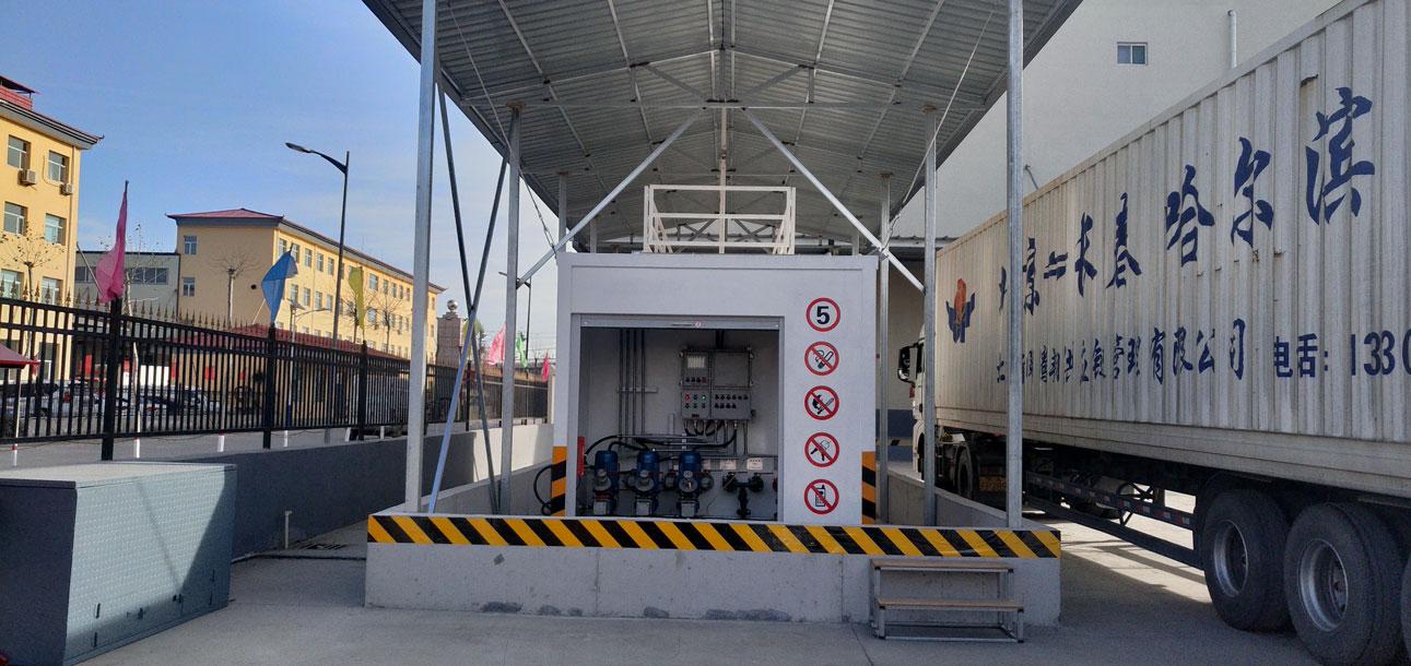 【山西运城某物流公司】撬装式加油站工程