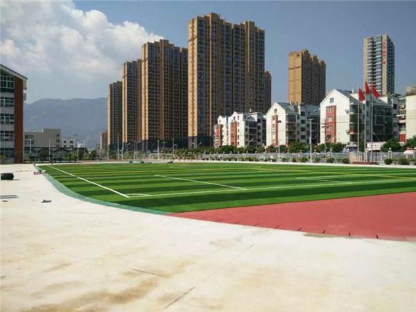 我们在使用足球场人造草坪时的注意事项?