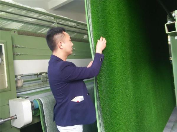 榆林人造草坪生产车间