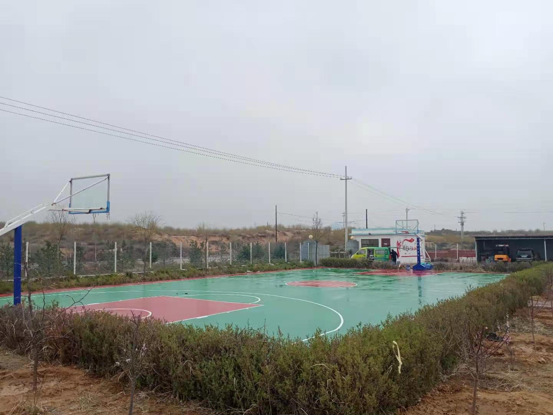 榆林市香水盐化厂丙烯酸球场项目
