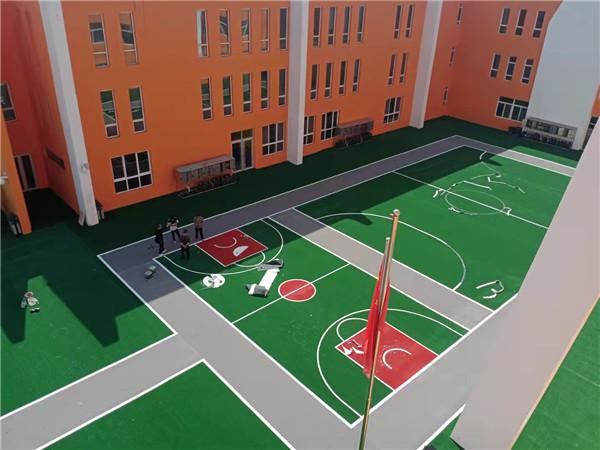 榆林市第三幼兒園人造草坪項目