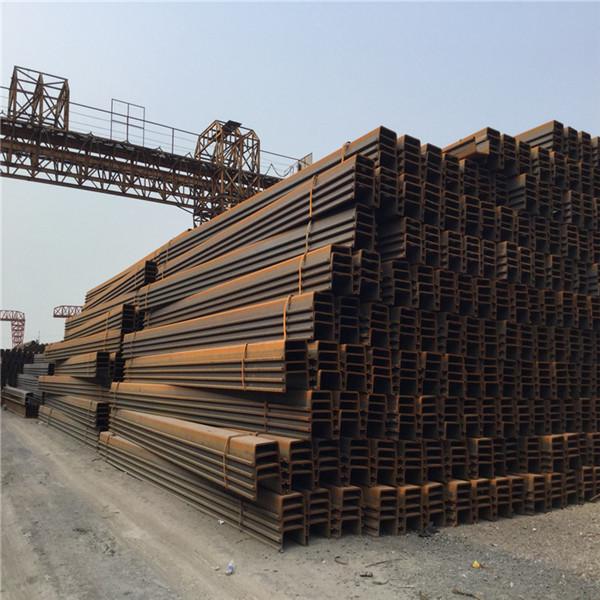 拉森钢板桩、打桩机在中铁二十局集团第四工程有限公司甘肃(天水)国际陆港市政基础设施项目