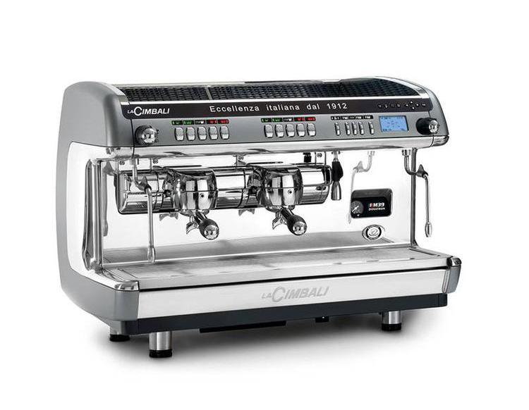 金佰利CIMBALI M39 DT2 双头半自动咖啡机商用