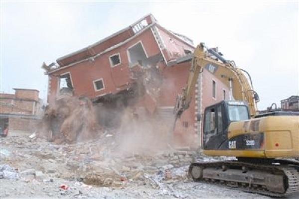 宁夏酒店拆除