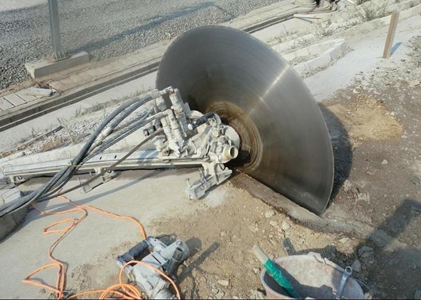 混凝土切割的拆除方法介绍