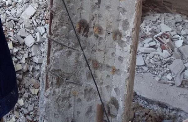 针对钢筋混凝土切割拆除过程中发现钢筋锈蚀提出的2种做法
