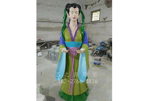 四川玻璃钢人物雕塑