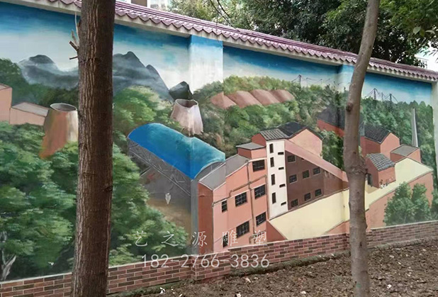 四川墙体彩绘公司