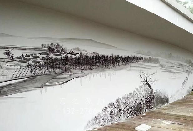 四川墙体彩绘制作