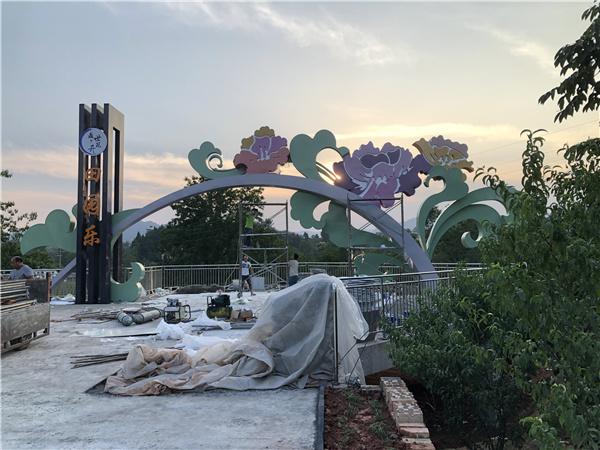 四川景观雕塑施工安装成功案例