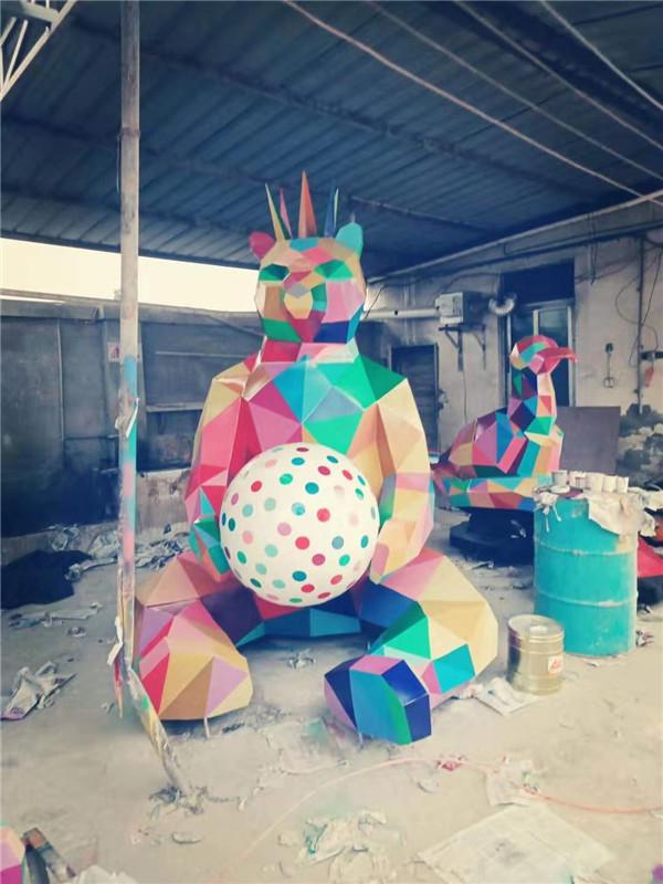 四川不锈钢雕塑(6)
